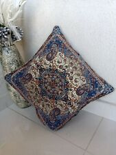 Persian / Turkish Vintage Design Cushion Pillow Cover - 16'' by 16'' (41 x 41cm)