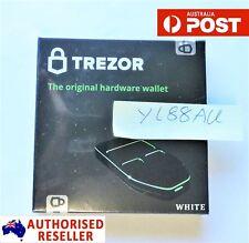 Trezor Hardware Bitcoin Wallet -WHITE- SEALED