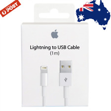 Genuine Apple Lightning Data Cable Charger for iPhone XS X 8 7 Plus 6 5 S C iPad