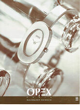 PUBLICITE ADVERTISING 094  1997  OPEX  coll montre KALBASS