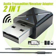USB Wireless Bluetooth Stereo Audio Music Transmitter Adapter For TV Laptop