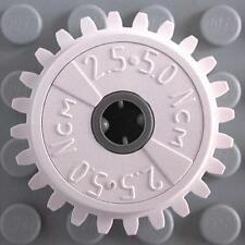 Technic Gear 24 diente 3 ejes agujeros en Gris Viejo parte no x187 4x Lego Technic