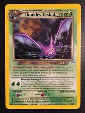Pokemon!! Dunkles Iksbat Neo Destiny 2/105! Holo Rare! Near Mint! DE!