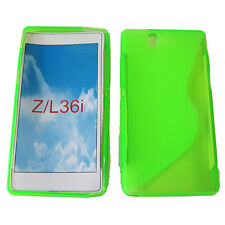 S-Line Shockproof Gel Case Cover For Sony Xperia Z LT36i L36i L36h C6603 GREEN