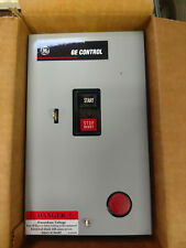 GE Manual Motor Starter 2P Nema Size 0 Type 1 Enclosed w/Pilot light NIB!
