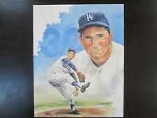 Sandy Koufax Unsigned 8 X 10 PHOTO Los Angeles Dodgers