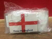 "20 x ""Come on England"" Novelty Hanging Car Air Fresheners Joblot"