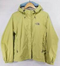 The North Face Women Medium Jacket Hyvent DT Waterproof Rain Green Hooded Coat