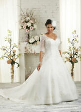 Plus Size White/Ivory Wedding Dresses Bridal Gown Size6-8-10-12-14-16++28+