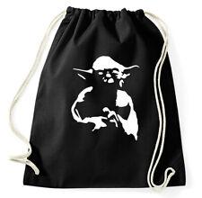 Yoda Turnbeutel Sportbeutel Jutebeutel Rucksack Star Wars Jedi