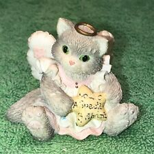 """Enesco Calico Kittens """"You'Re A Special Grandma� Cat Figurine 651117"""