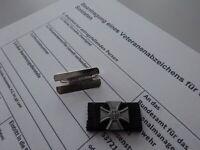 Bundeswehr Veteranenabzeichen Bandspange Bandschnalle Ordensspange mit Antrag +H