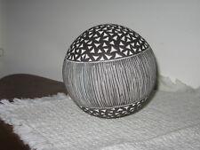 """Ceramic Gazing Ball Textured Accent Ball 4 1/2"""" Carpet Ball"""