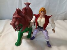 He-Man and the MOTU Vintage (1981) ?Prince Adam And Cringer / Battle Cat Figures