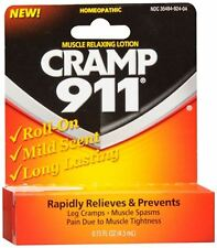 Cramp 911 Muscle Relaxing Roll-On Lotion 4.50 mL (Pack of 8)
