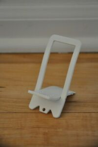 WHITE Folding Desk Stand Holder for Phone SAMSUNG Apple iphone ipod KINDLE