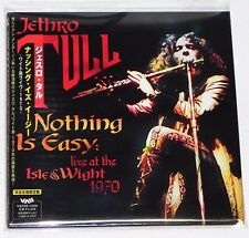 JETHRO TULL / Nothing is Easy :Live At The Isle of Wight JAPAN Mini LP CD w/OBI