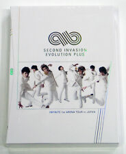 INFINITE 1st Arena Tour In Japan Second Invasion Evolution Plus DVD + 7Postcards