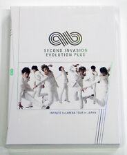 INFINITE 1st Arena Tour In Japan Second Invasion Evolution Plus DVD + 7Postcards