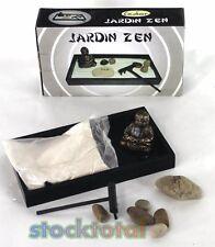 jardin zen piedras rastrillo arena buda y soporte madera x cms t