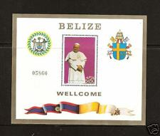 BELIZE # 667 MNH Pope John Paul II Visit In 1983