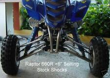 Yamaha Raptor 660R A-arms & Shocks Wid. Kit  +4.5 or +6