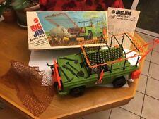 Vintage Mattel Big Jim Action Figure Jungle Truck Complete MIB Nice Example
