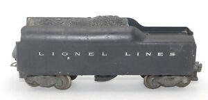 Lionel Lines Postwar Coal Whistling Tender Car 2046W O Scale No Box
