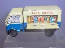 "Vintage Chad Valley Clockwork modèle No.10134 ""MAC"" Mobile SNACK BAR Camion"