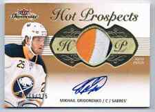 2013-14 FLEER SHOWCASE RC AUTO PATCH MIKHAIL GRIGORENKO ROOKIE AUTO AUTO PATCH