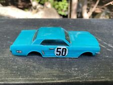 Vintage 1960's Ideal Motorific Ford Mustang Body Only