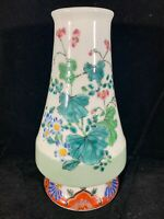 Chinese Antique Famille Rose Porcelain Vase With Flowers