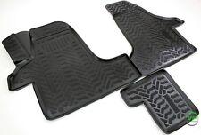 3D Gummi-Fußmatten für VW Transporter Multivan Caravelle T5 T6 vorn Hohe Matten