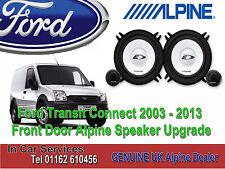 Ford Transit Connect 2003 - 2013 Alpine Front Door Speaker & Tweeter Upgrade