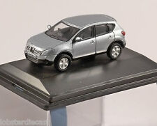 NISSAN QASHQAI in Silver 1/76 scale model OXFORD DIECAST