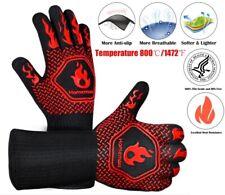 1472°F Heat Proof Resistant Oven Glove Mitt Burn Bbq Fire Surface Pot Handler Us