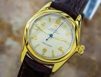Rolex Vintage Mid Size 1940s ref 3121 Rolex Oyster Leigh Manual Watch EB120