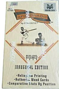 1996 Pinnacle Aficionado Inaugural Edition Baseball 24 Pack Box 5 Cards Per Pack