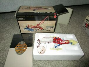 JI Case IH Farmall McCormick Farm Toy NIB Precision Series Little Genius Plow