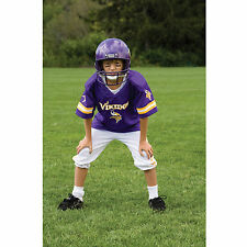 YOUTH MEDIUM Minnesota Vikings NFL UNIFORM Game Day Jersey Costume Ages 7-9 NEW