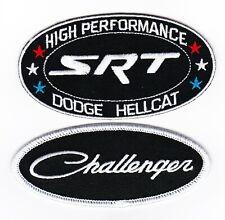 DODGE CHALLENGER SRT HEMI HELLCAT SEW/IRON ON PATCH EMBROIDERED EMBLEM MOPAR