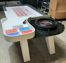 Luxury Chic Custom Roulette Casino Grade Table Stylish MSRP $8,100 Poker Craps