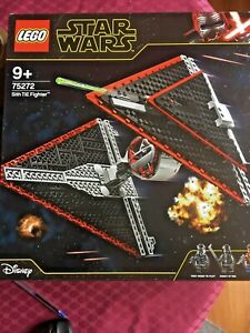 Lego 75272 Star Wars Sith TIE Fighter (BRAND NEW AND SEALED)