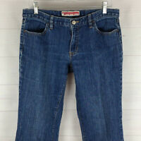 GAP womens size 10 ankle stretch blue medium wash mid rise flare/bootcut? jeans
