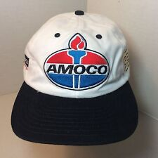 Vintage Men's Amoco Racing 93 Baseball Hat Cap Tonkin Incorporated White