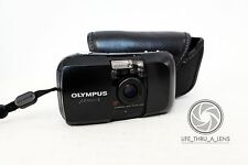 Olympus MJU 1 35mm Compact Film Camera with case lomo retro