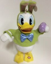HALLMARK Plush Singing Animated DONT PULL MY EARS DONALD DUCK Easter Bunny Egg