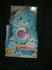 "Care Bear DVD 14"" ~BLUEBERRY SCENTED~ PLAY-A-LOT BEAR * New In Box *2006* RARE *"