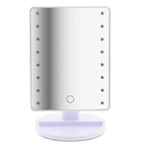 LED Tageslicht Kosmetikspiegel 180° drehbar 16 LED-Leuchten