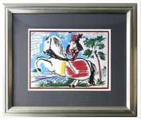 Pablo Picasso, Toros y Toreros, Wonderful Original Offset Mourlot Lithograph